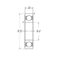25 mm x 52 mm x 15 mm  NSK 6205L11-H-20DDU deep groove ball bearings