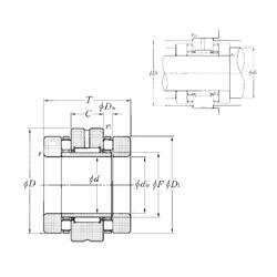 NTN ARN50110 complex bearings