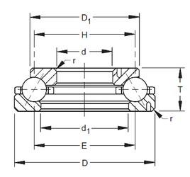 Timken 302TVL624 angular contact ball bearings