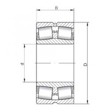 1060 mm x 1400 mm x 250 mm  ISO 239/1060W33 spherical roller bearings