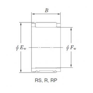 KOYO RS505739A needle roller bearings