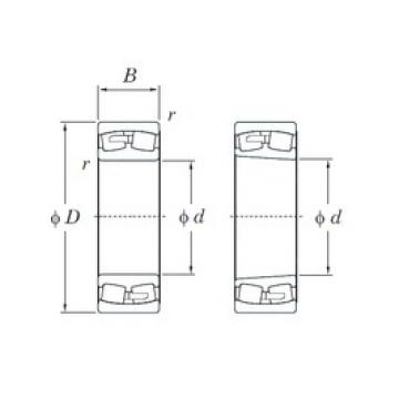 1000 mm x 1420 mm x 308 mm  KOYO 230/1000R spherical roller bearings