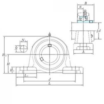 KOYO UCPX12-39 bearing units