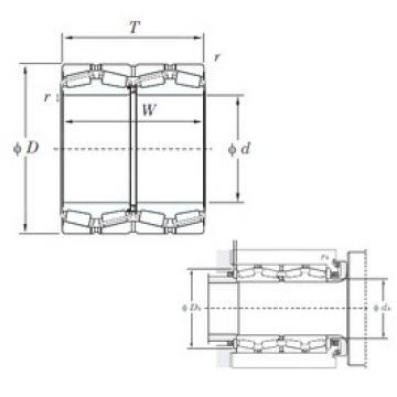 KOYO 47334 tapered roller bearings