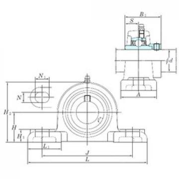 KOYO NAPK202-10 bearing units