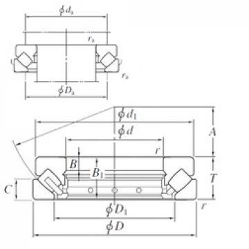 530 mm x 920 mm x 87 mm  KOYO 294/530R thrust roller bearings