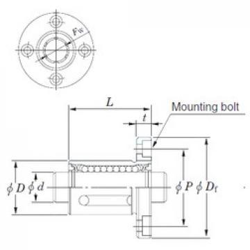 KOYO SDMF35 linear bearings