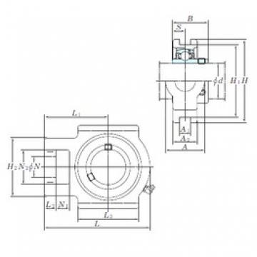 KOYO UCT320 bearing units
