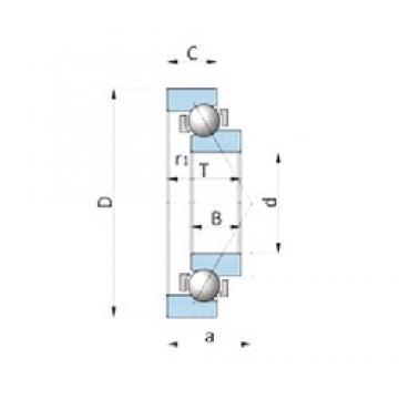 NTN SF4007PX1 angular contact ball bearings