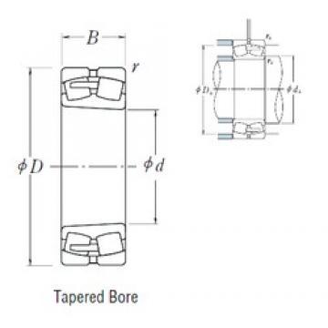 320 mm x 480 mm x 121 mm  NSK 23064CAKE4 spherical roller bearings