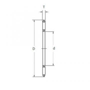 NSK FNTA-5070 needle roller bearings