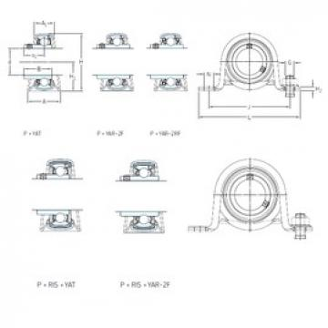 SKF P 20 TF bearing units