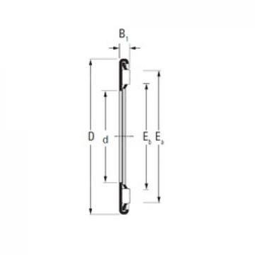 Timken AX 13 26 needle roller bearings