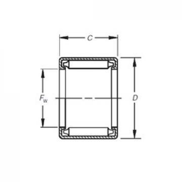 Timken BH-1410 needle roller bearings