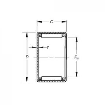 Timken MJH-10101 needle roller bearings