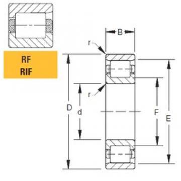 152,4 mm x 266,7 mm x 61,91 mm  Timken 60RIF249 cylindrical roller bearings