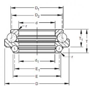 Timken 305DTVL727 angular contact ball bearings