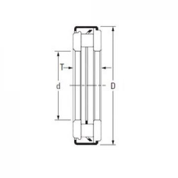 KOYO ARZ 14 80 106 needle roller bearings