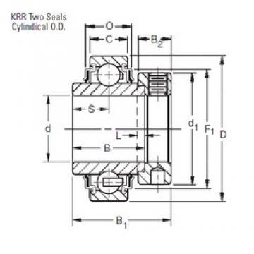 30 mm x 62 mm x 36,51 mm  Timken E30KRR deep groove ball bearings