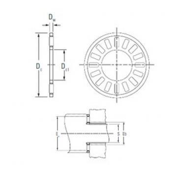 KOYO NTA-2031 needle roller bearings