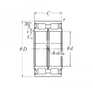 380 mm x 560 mm x 243 mm  NSK RS-5076 cylindrical roller bearings