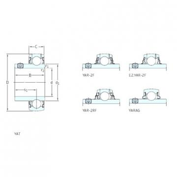 20 mm x 47 mm x 31 mm  SKF E2.YAR204-2F deep groove ball bearings