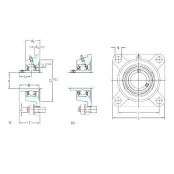 SKF FY 30 TF bearing units