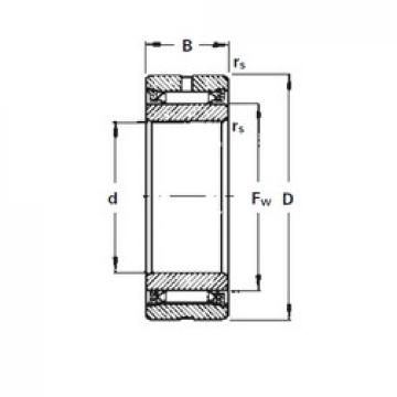 130 mm x 170 mm x 34 mm  Timken NA2130 needle roller bearings