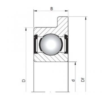 2,5 mm x 6 mm x 2,6 mm  ISO FL618/2,5 ZZ deep groove ball bearings
