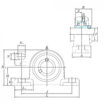 KOYO UCP212-39SC bearing units