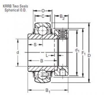 49,2125 mm x 90 mm x 49,21 mm  Timken 1115KRRB deep groove ball bearings
