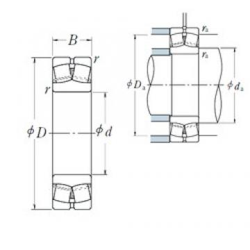 80 mm x 140 mm x 33 mm  NSK 22216EAE4 spherical roller bearings