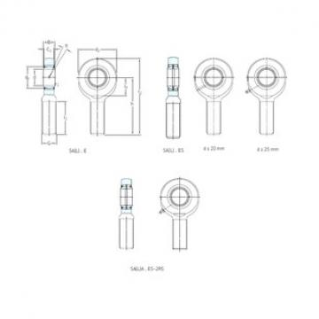 SKF SA30ES plain bearings