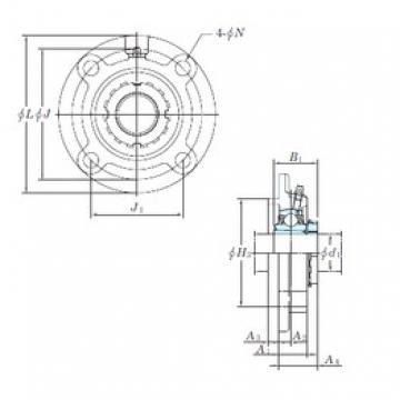 KOYO UKFC207 bearing units