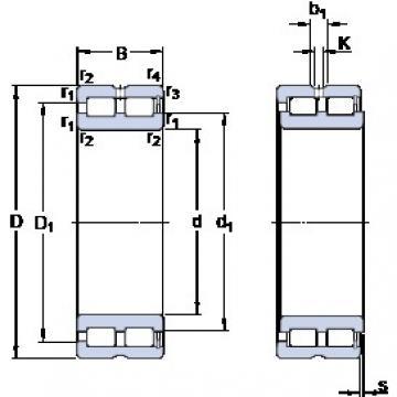 260 mm x 360 mm x 100 mm  SKF NNCF 4952 CV cylindrical roller bearings