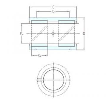 SKF LPAR 8 plain bearings