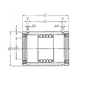 NTN KD6085100LL linear bearings