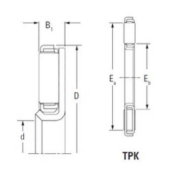 KOYO TPK2241L needle roller bearings