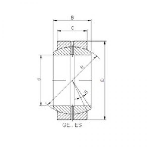 16 mm x 30 mm x 14 mm  ISO GE 016 ES-2RS plain bearings #2 image