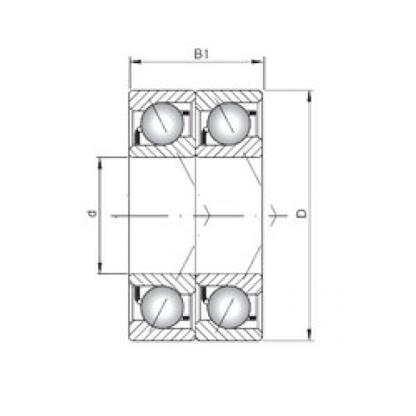 ISO 7216 BDT angular contact ball bearings #2 image
