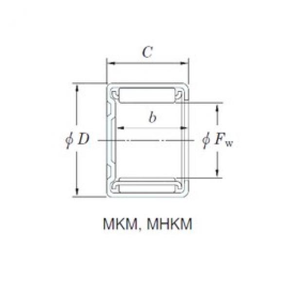 KOYO MHKM3230 needle roller bearings #2 image