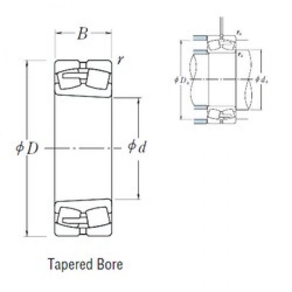 500 mm x 920 mm x 336 mm  NSK 232/500CAKE4 spherical roller bearings #2 image