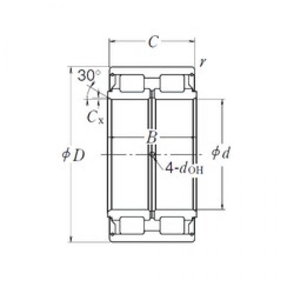 240 mm x 360 mm x 160 mm  NSK RS-5048 cylindrical roller bearings #2 image