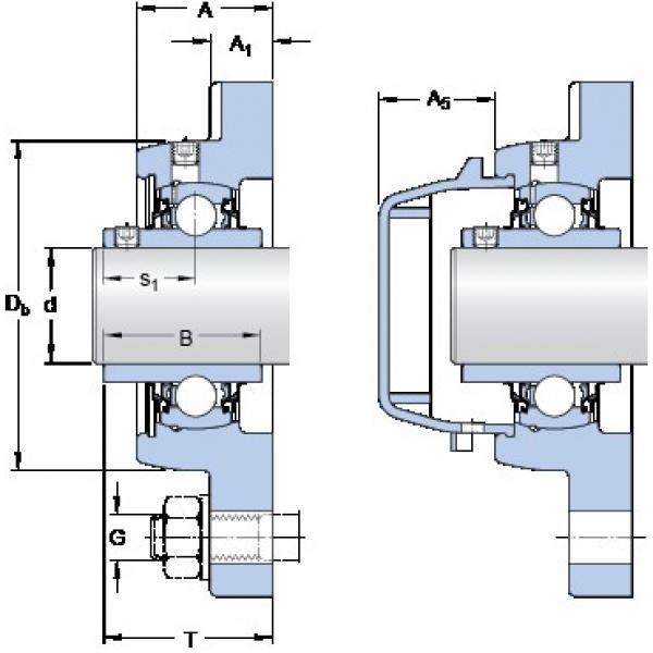 SKF FYWR 30 YTHR bearing units #2 image