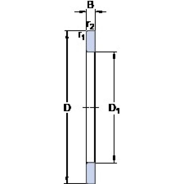 SKF GS 81138 thrust roller bearings #2 image