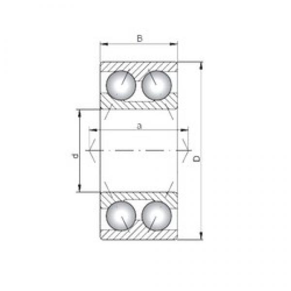 ISO 3202 angular contact ball bearings #2 image