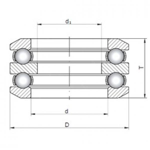 ISO 54318 thrust ball bearings #2 image