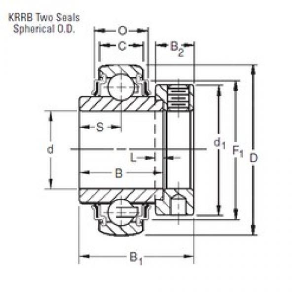 20 mm x 47 mm x 34,13 mm  Timken E20KRRB deep groove ball bearings #1 image