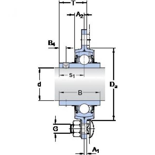 SKF PFD 20 TF bearing units #2 image
