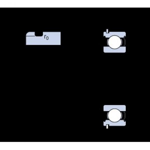 25 mm x 62 mm x 17 mm  SKF 6305-ZNR deep groove ball bearings #3 image